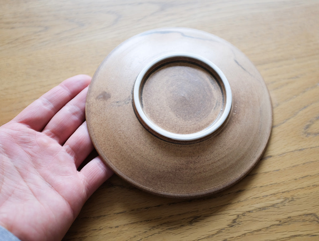 Cocoa Saucer by Inima Pottery at OEN Shop