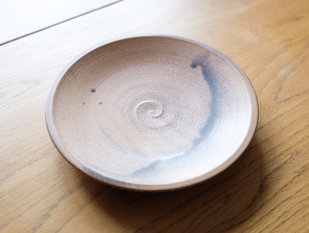 Medium Cocoa Plate by Inima Pottery at OEN Shop