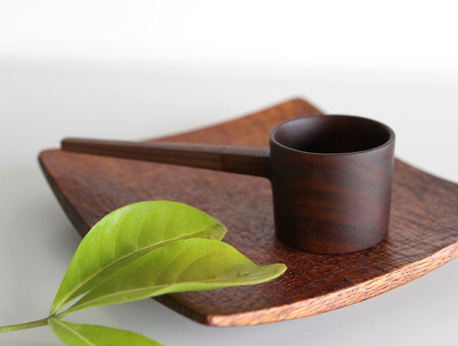 Walnut Coffee Measure