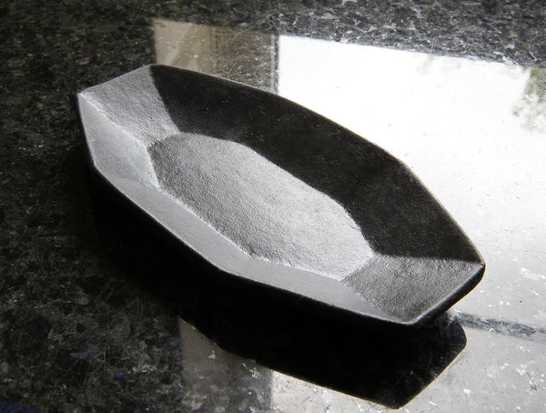 Black Small Segmented Dish