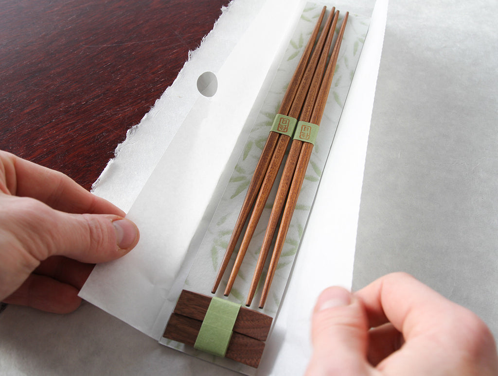 Chopstick and Rest Set by Studio KUKU at OEN Shop