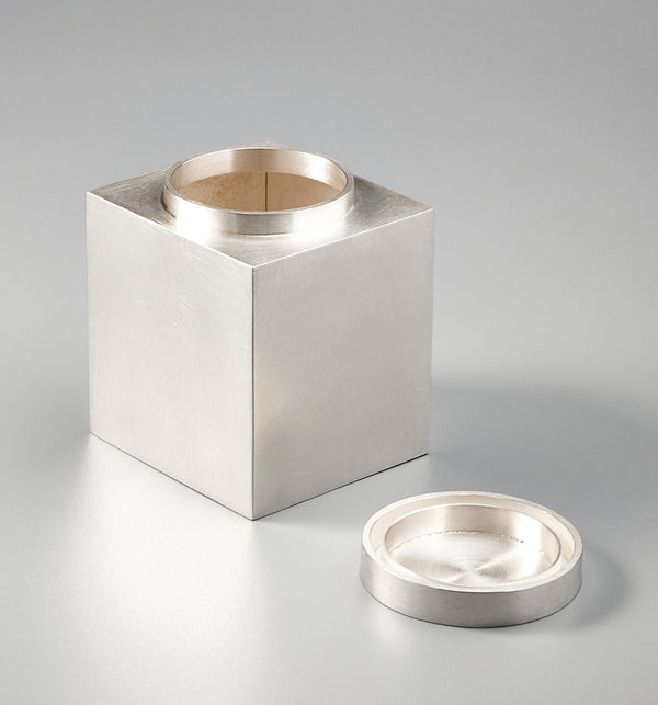 925 Rectangular Tea Canister