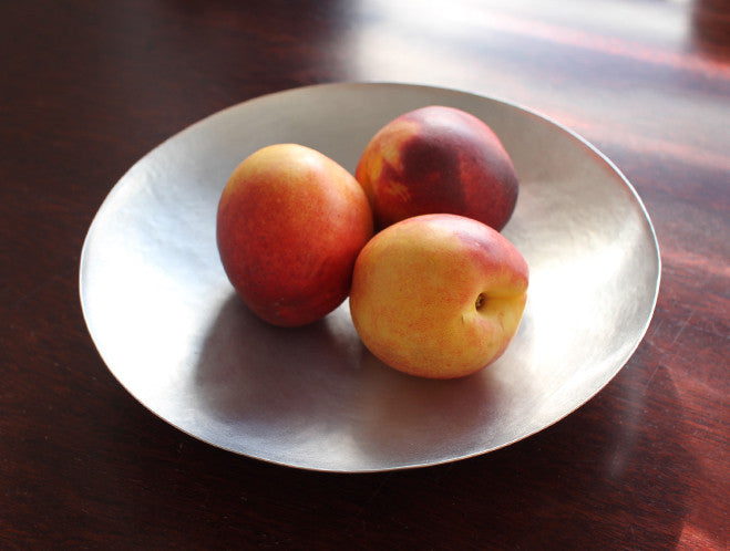 Aluminium Bowl by Naho Kamada at OEN Shop