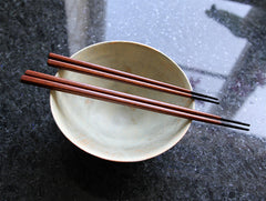 Large Black Tipped Chopsticks by Maiko Okuno at OEN Shop