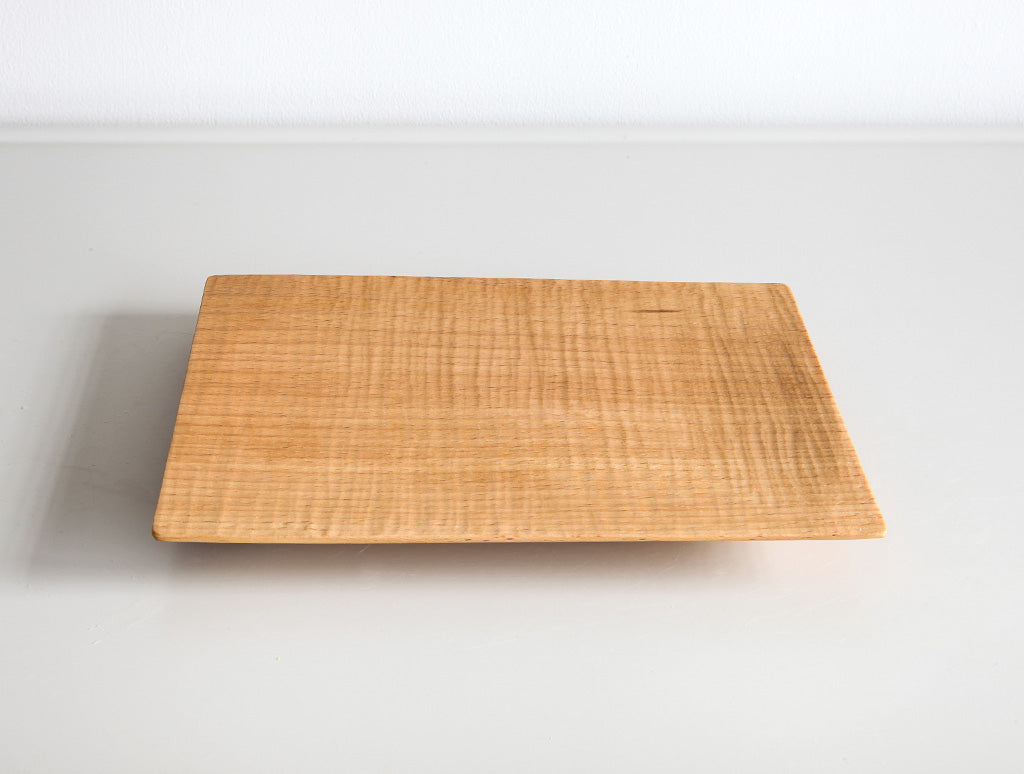 Small Natural Square Tray by Dairoku at OEN Shop