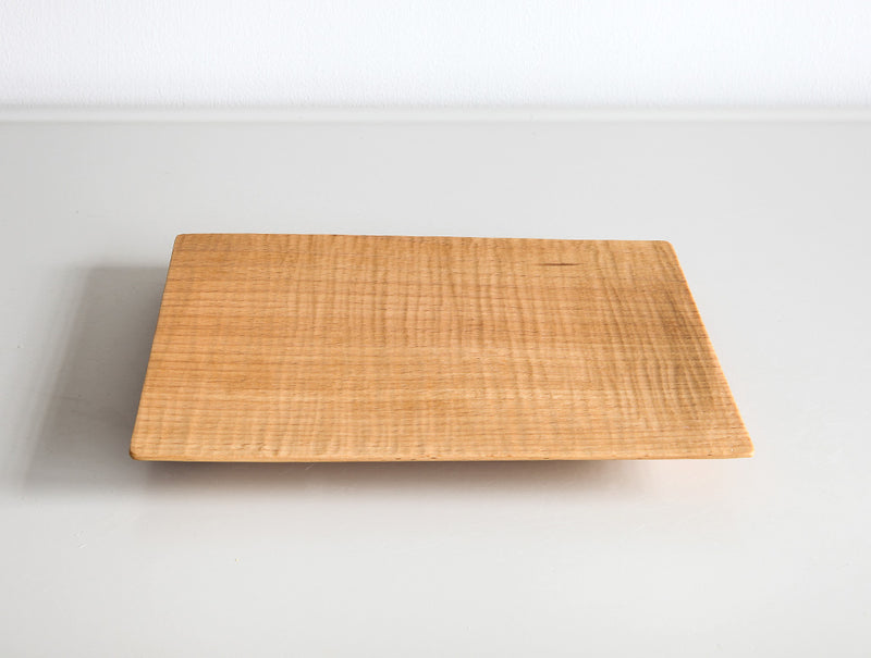 Small Natural Square Tray