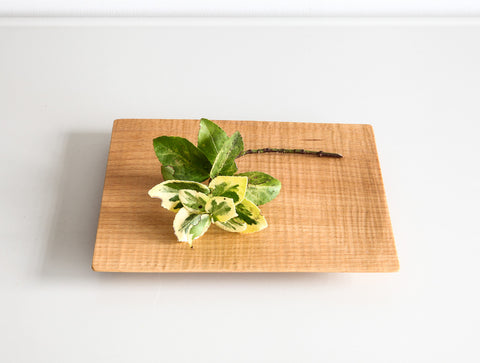 Small Natural Square Tray by Dairoku