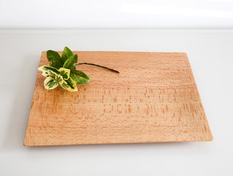 Medium Natural Square Tray by Dairoku