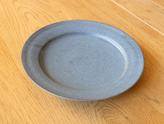 Medium Blue Matte Plate by Mark Robinson at OEN Shop