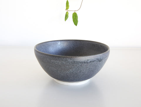 Small Blue Matte Bowl by Mark Robinson