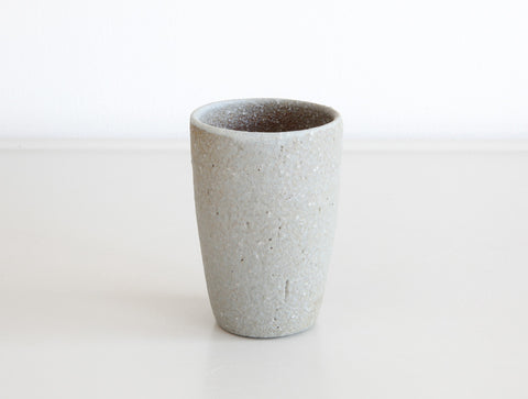 Small Grey Mountain Cup by Mushimegane Books