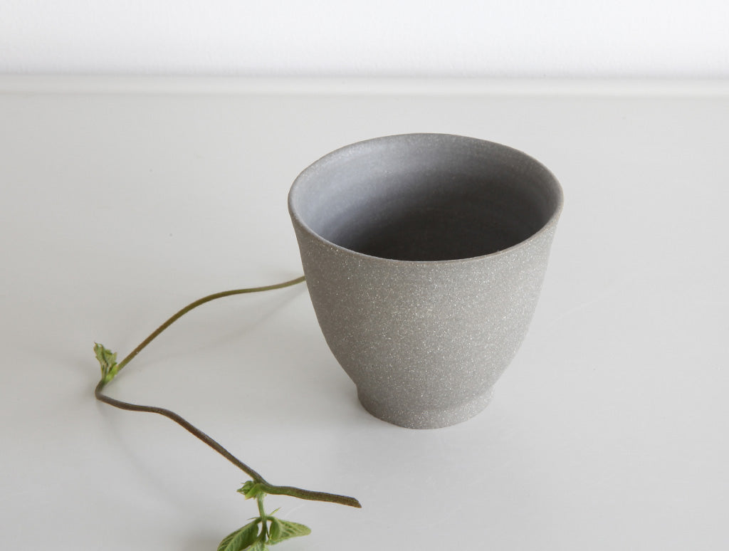 Small Stone Grey Cup by Mark Robinson at OEN Shop