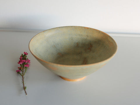 Small Verdant Bowl by Mark Robinson