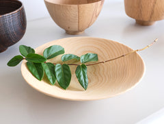 Small Natural Open Bowl by Kihachi Workshop at OEN Shop