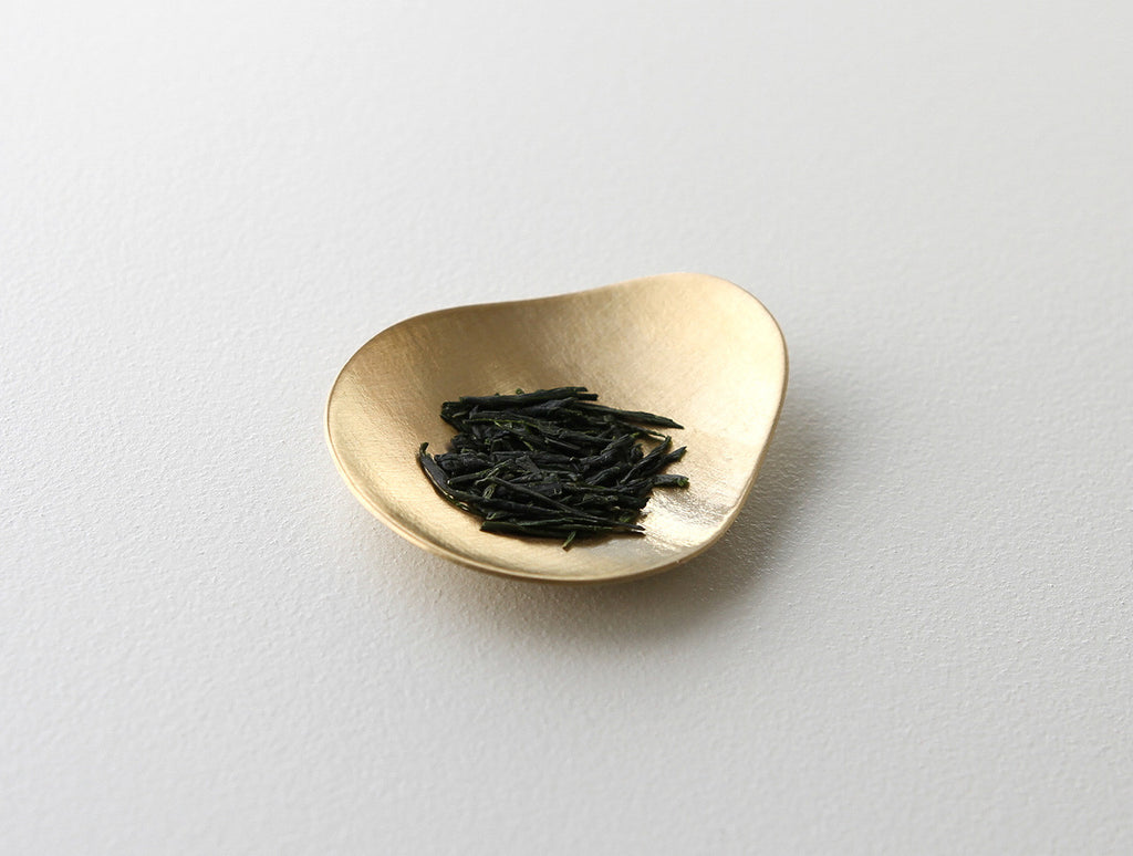 Brass Pick Tea Spoon by Yuta Craft at OEN Shop