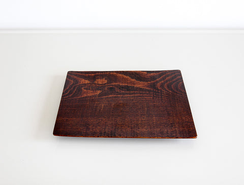 Small Buna Square Tray by Dairoku