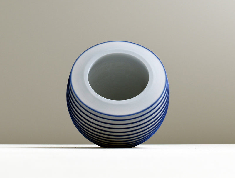 Blue Floating Bowl
