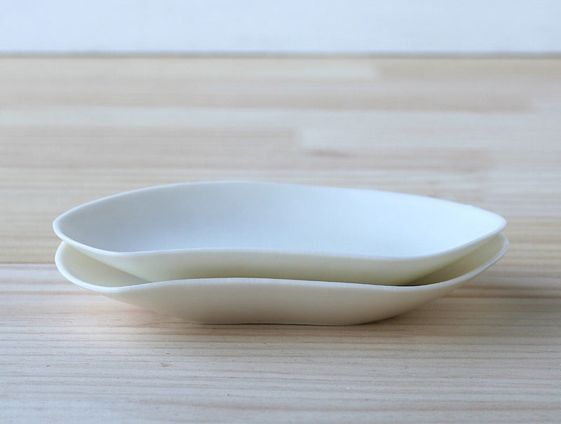 White Porcelain Sweet Dish