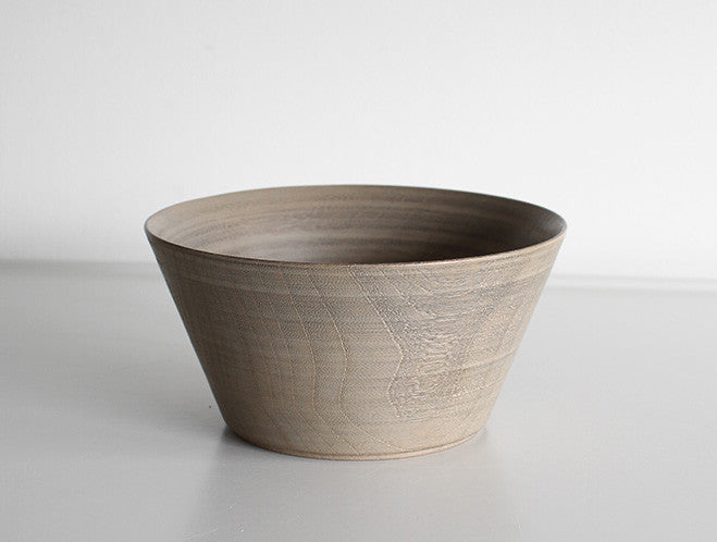 White Lacquer Soup Bowl by Hiroyuki Sugawara at OEN Shop