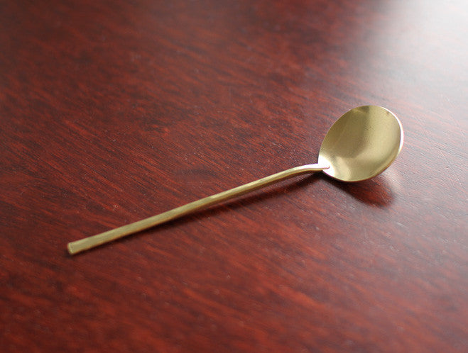 Small Brass Spoon by Lue Brass at OEN Shop