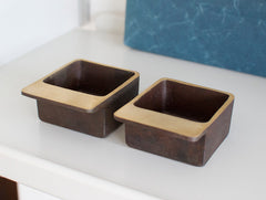 Square Ashtray by Carl Auböck at OEN Shop