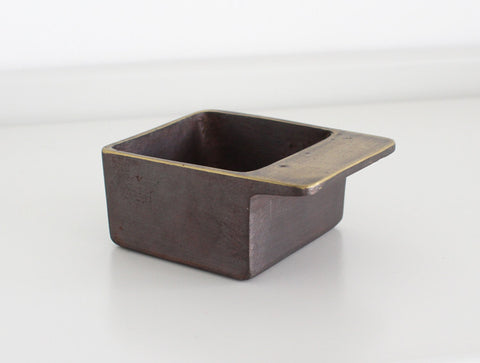 Square Ashtray by Carl Auböck