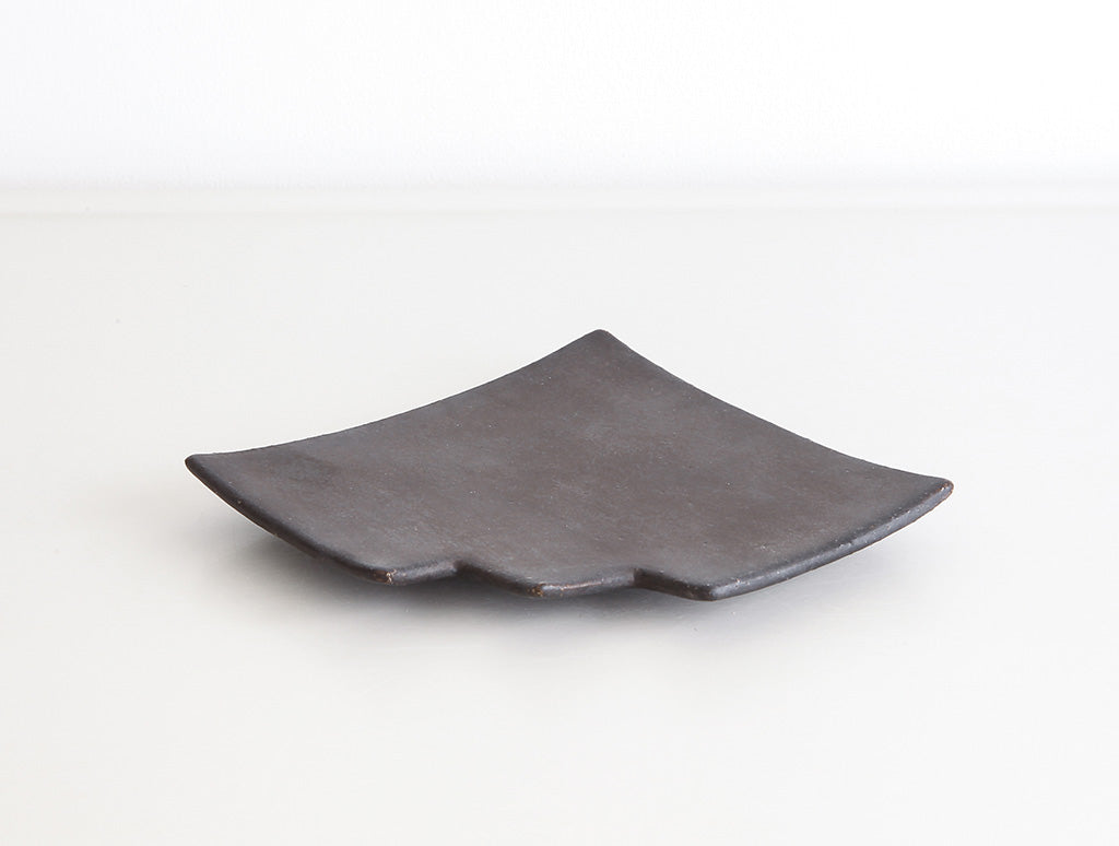 Black Stair Plate by Keiichi Tanaka at OEN Shop