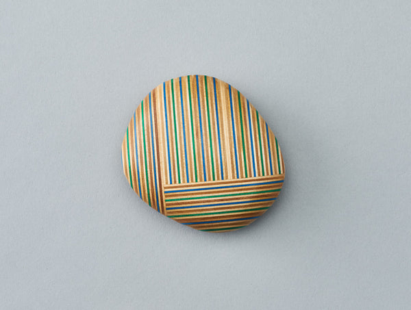 Square Pebble Paperweight