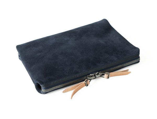 Suede Organizer Pouch Small