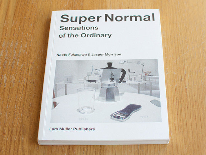Jasper Morrison & Naoto Fukasawa: Super Normal by Lars Müller at OEN Shop