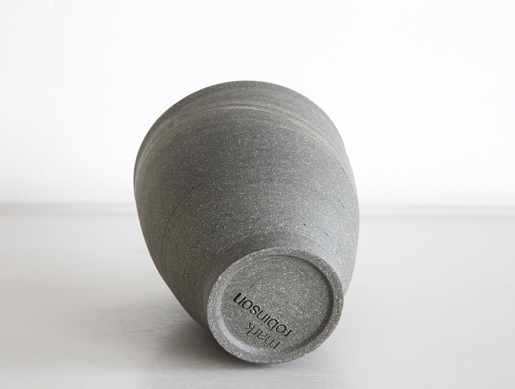 Grey Swirl Stone Cup by Mark Robinson at OEN Shop