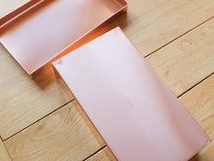 Rectangular Copper Can L by SyuRo at OEN Shop