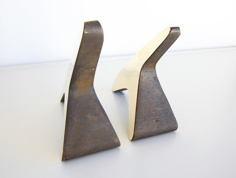 T Polished Bookends