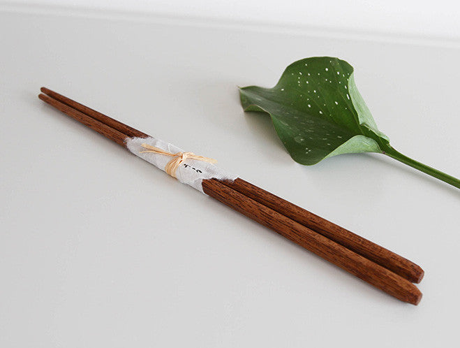 Teak Chopsticks by Eiji Hagiwara at OEN Shop