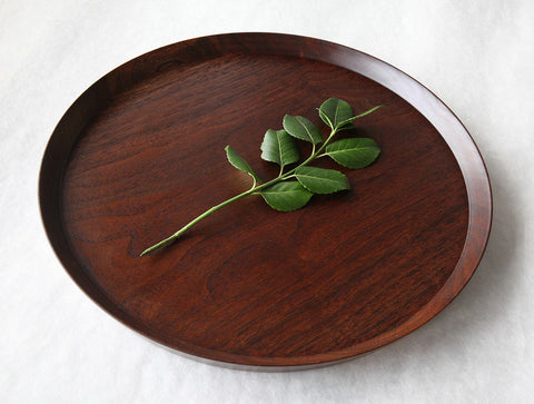 Circle Walnut Tray by Atelier tree song
