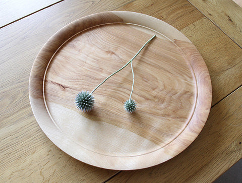 Cherry Decorative Tray by Mutsumi Goto