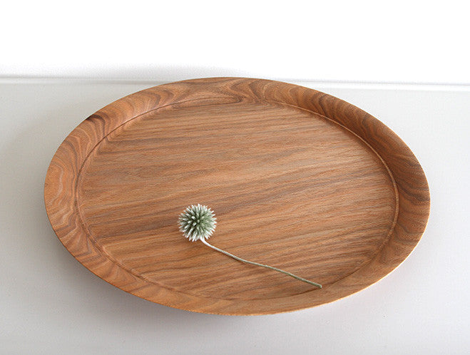 Birch Decorative Tray by Mutsumi Goto at OEN Shop