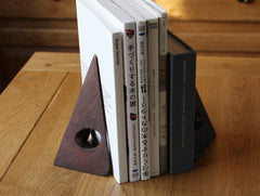 Triangle Bookends by Carl Auböck at OEN Shop