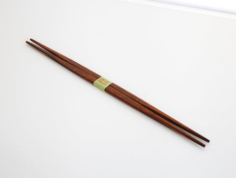Brown Urushi Chopsticks by Studio KUKU
