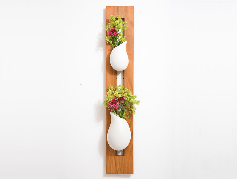 Framed Droplet Wall Vases