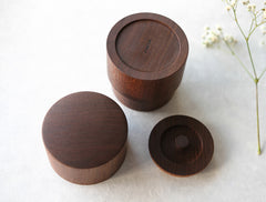 Cha Walnut Box by Studio KUKU at OEN Shop