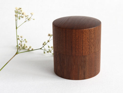 Cha Walnut Box by Studio KUKU