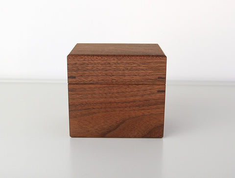 Walnut Tea Canister S by Fujii Works