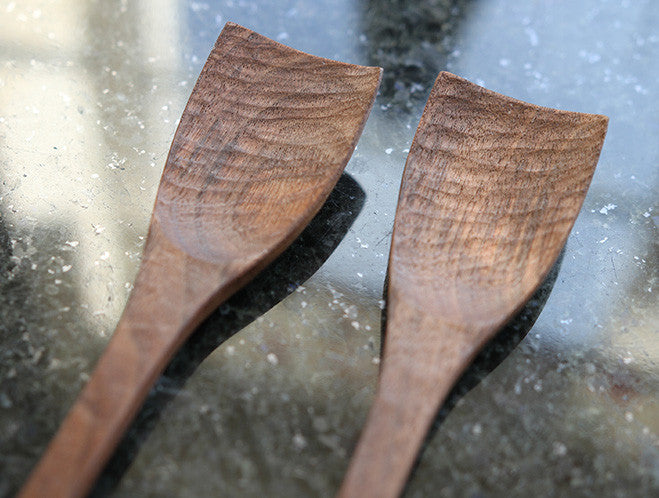 Black Walnut Mealspoon