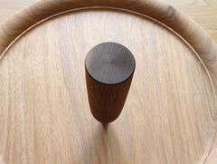 Shaped Walnut Vase by Mutsumi Goto at OEN Shop