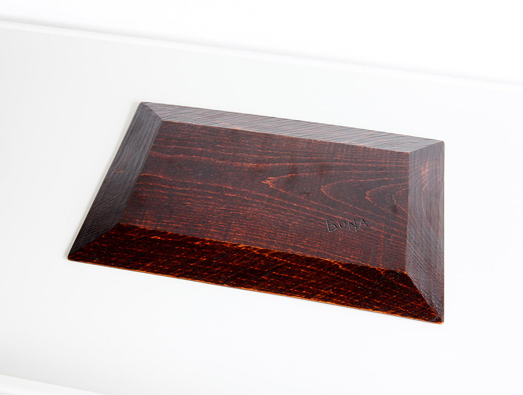 Medium Buna Rectangle Tray by Dairoku at OEN Shop
