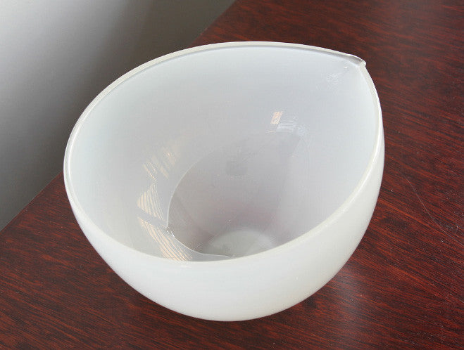 White Katakuchi Bowl by Studio Prepa at OEN Shop