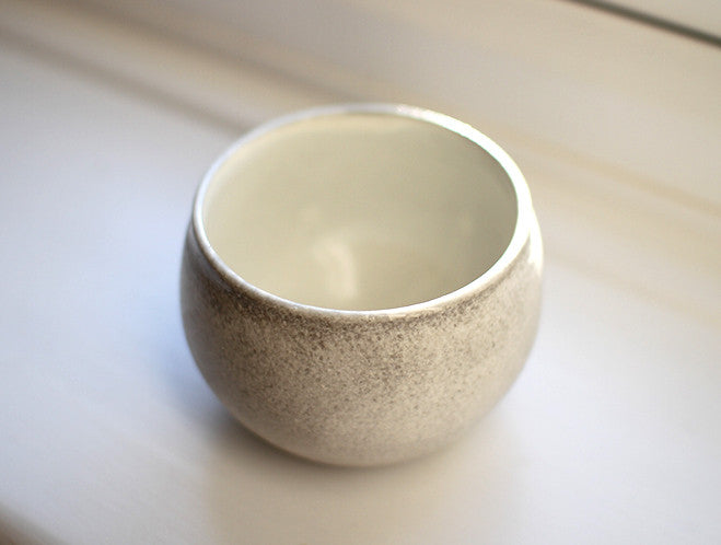 White Free Cup by Kana Tozuka at OEN Shop