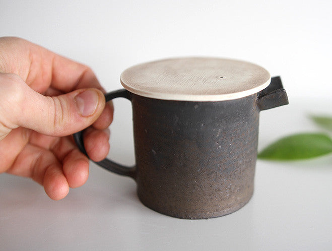 Spouted Pouring Jug by Takeshi Ohmura at OEN Shop