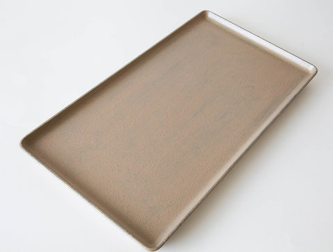 White Lacquer Tray by Fujii Works